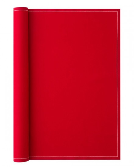 PLACEMAT 48X32 LIPSTICK RED