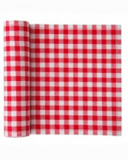 MY DRAP NAPKIN 20X20 RED GINGHAM