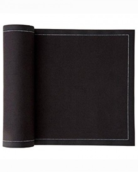 MY DRAP NAPKIN 32X32 BLACK