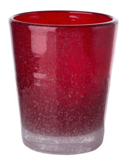 POLS POTTEN GLASS HE RED