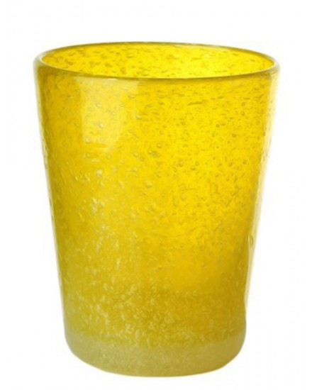 POLS POTTEN GLASS HE YELLOW