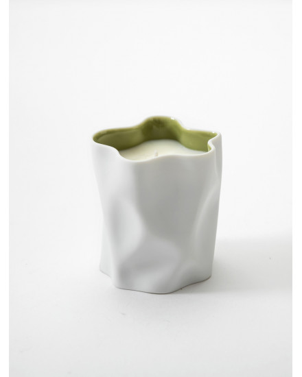 KITCHIBE CRINKLE CANDLE MATCHA