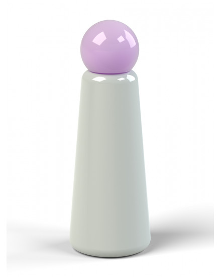 LUND LONDON SKITTLE BOTTLE LIGHT GREY-LILAC