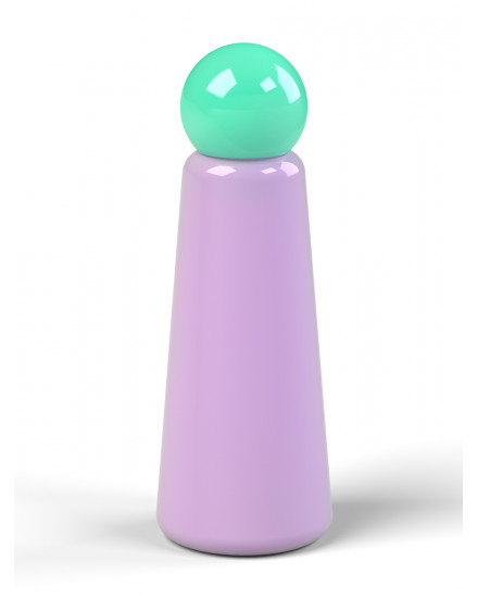 LUND LONDON SKITTLE BOTTLE LILAC-TURQUOISE
