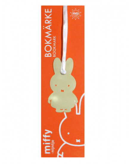 PLUTO PRODUKTER BOOKMARK MIFFY GOLD
