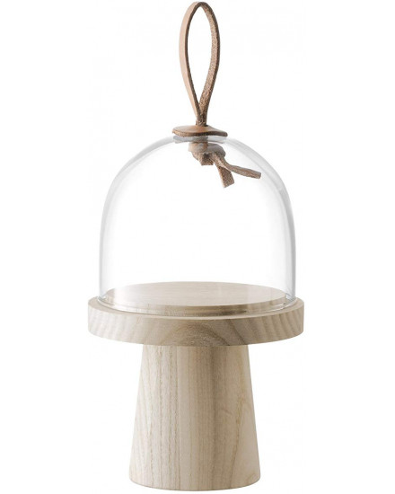 LSA IVALO ASH STAND & DOME D11,5CM H19CM CLEAR