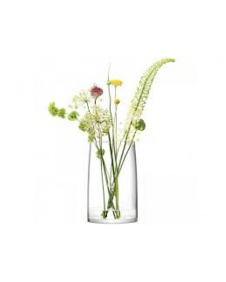 STEMS VASE/LANTERN/PLANTER H42CM CLEAR