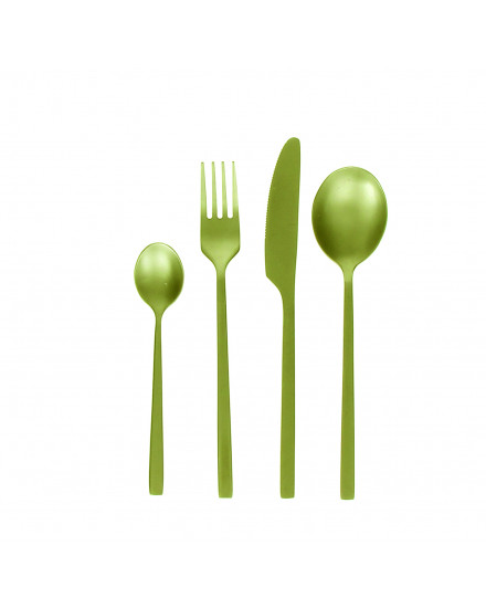 SERENITY SET 4 CUTLERY, INOX 18/0, GOLD