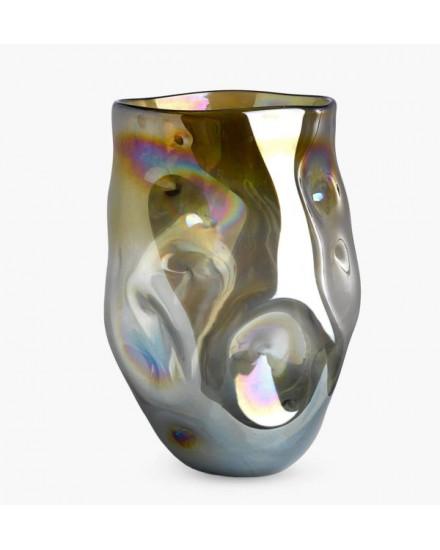 Vase collision amber L