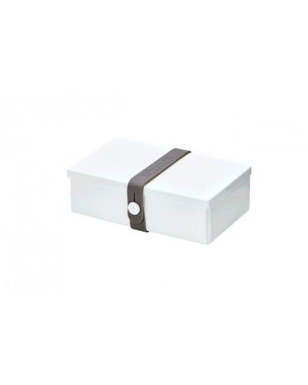 NO.01 WHITE BOX/DARK GREY STRAP