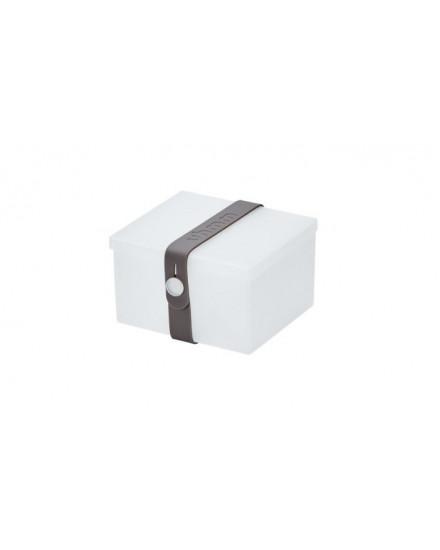NO.02 TRANSPARENT WHITE BOX/DARK GREY STRAP