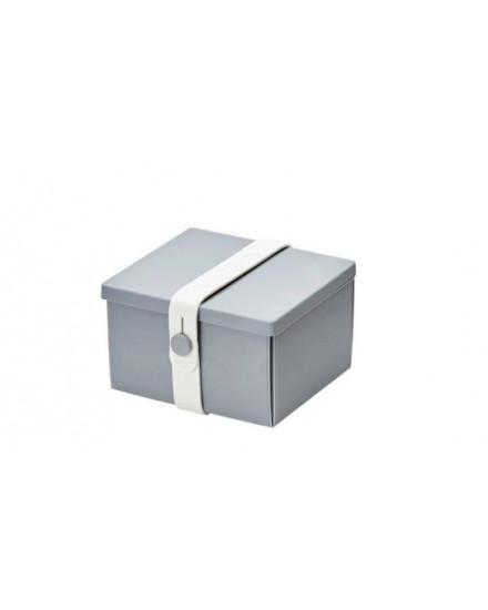 NO.02 LIGHT GREY BOX/WHITE STRAP