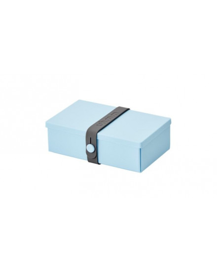 NO.01 LIGHT BLUE BOX/DARK GREY STRAP