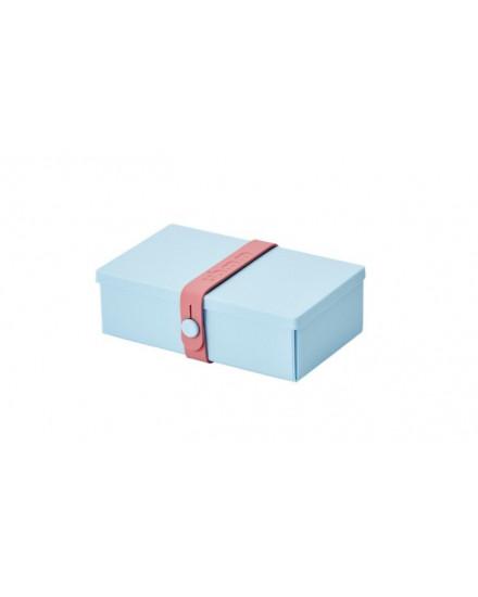 NO.01 LIGHT BLUE BOX/PINK STRAP