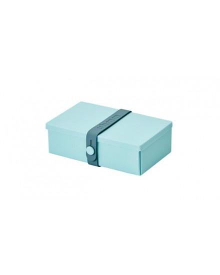 NO.01 MINT GREEN BOX/PETROL STRAP