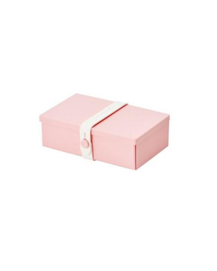NO.01 PINK BOX/WHITE STRAP