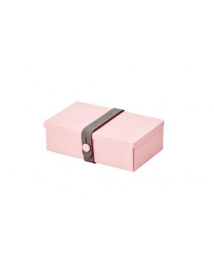 NO.01 PINK BOX/DARK GREY STRAP