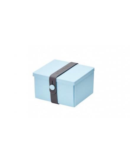 NO.02 LIGHT BLUE BOX/DARK GREY STRAP