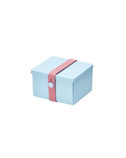 NO.02 LIGHT BLUE BOX/PINK STRAP