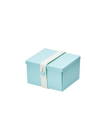 NO.02 MINT GREEN BOX/WHITE STRAP