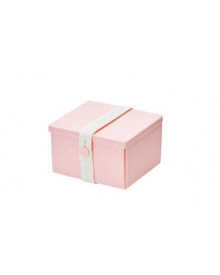 NO.02 PINK BOX/WHITE STRAP