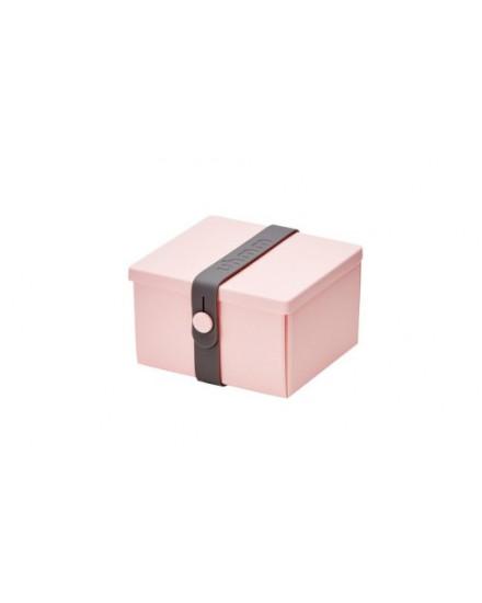 NO.02 PINK BOX/DARK GREY STRAP