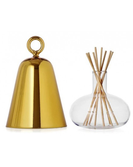 BELL PERFUME CONTAINER GOLD