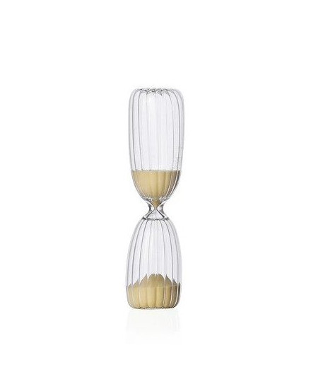 TIMES 5MIN HOURGLASS NATURAL SAND