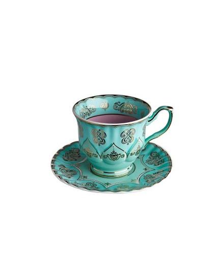 Tea Cup & Saucer Grandpa - Mint
