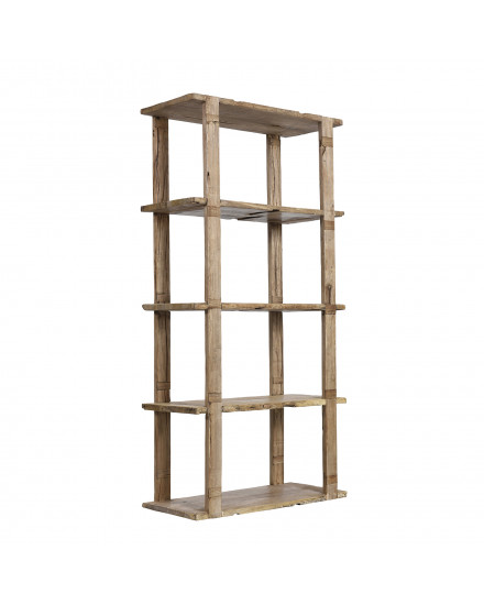 CROFTERS BOOKCASE 100X45CM-OLD PLANKS