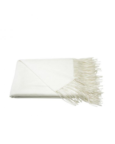 Jacques Garcia - Cashmere Throw White