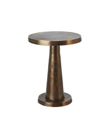 Side table Toot antique brass low