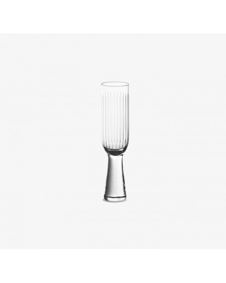 Otto Glass Champagne Flute - Set of 2