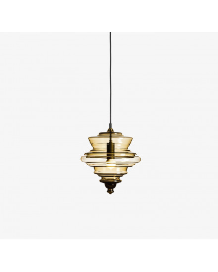 Never Ending Glory Pendant - La Scala Small - Smoke
