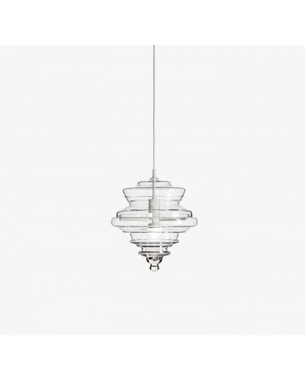 Never Ending Glory Pendant - La Scala Small - Clear