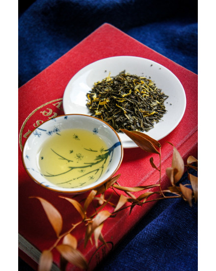 Green Tea Peach
