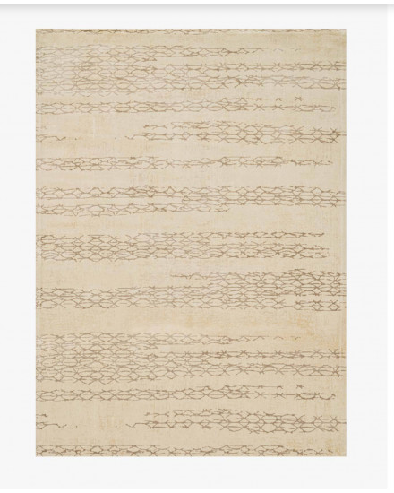 Journey Collection, JO-01 IVORY/MOCHA, 9feet-2inch x 12feet-2inch