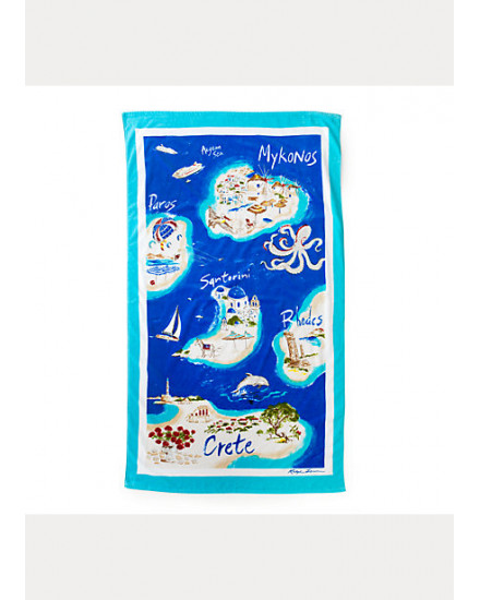 GREEK ISLES BEACH TOWEL