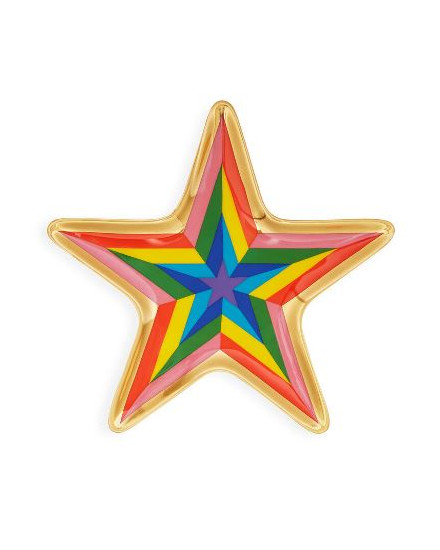 JONATHAN ADLER Technicolor Star Trinket Tray - Multi - 27757