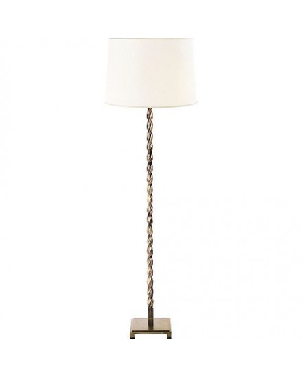 Baker Twisted Column Floor Lamp by Thomas Pheasant