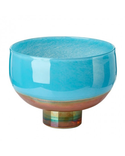 Bowl Horizon aqua gold