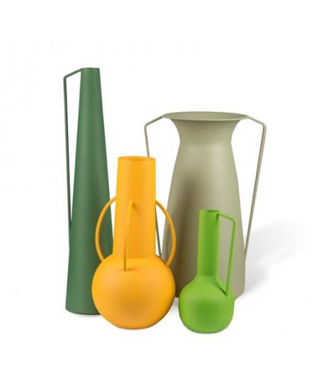 Vases Roman green set 4