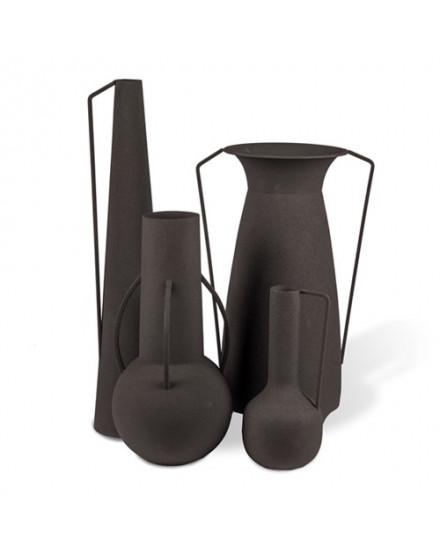 Vases Roman black set 4