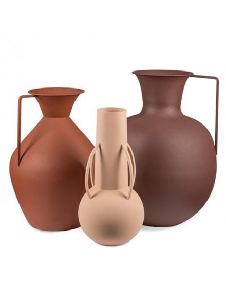 Vases Roman brown set 3