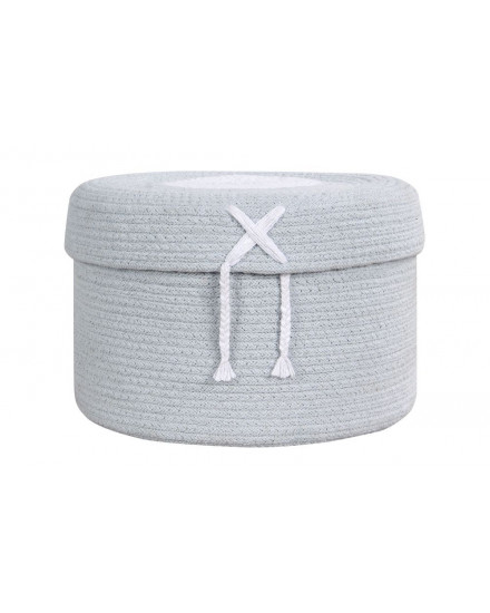 LORENA CANALS BASKET CANDY BOX LIGHT BLUE (L)