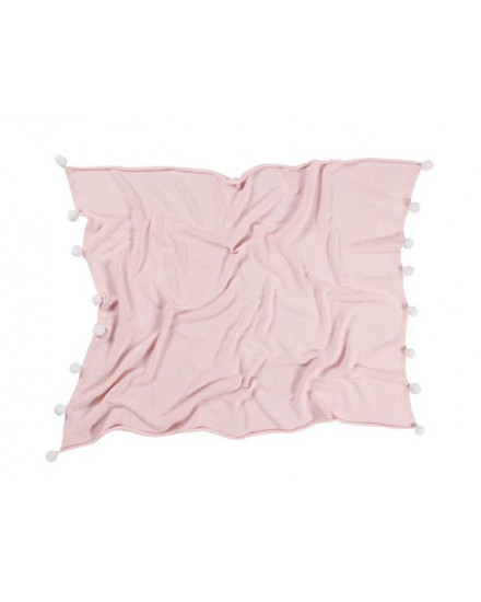 LORENA CANALS BABY BLANKET BUBBLY SOFT PINK