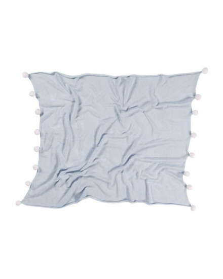 LORENA CANALS BABY BLANKET BUBBLY SOFT BLUE