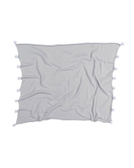 LORENA CANALS BABY BLANKET BUBBLY LIGHT GREY