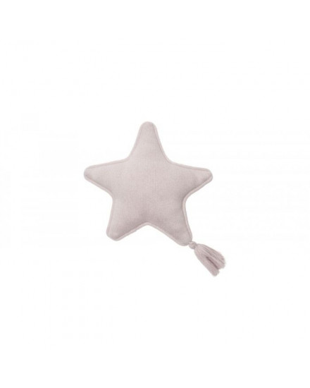 LORENA CANALS KNITTED CUSHION TWINKLE STAR PINK PEARL