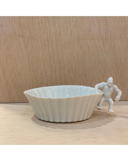 Yukiko Kitahara Striated Bowl Gorilla